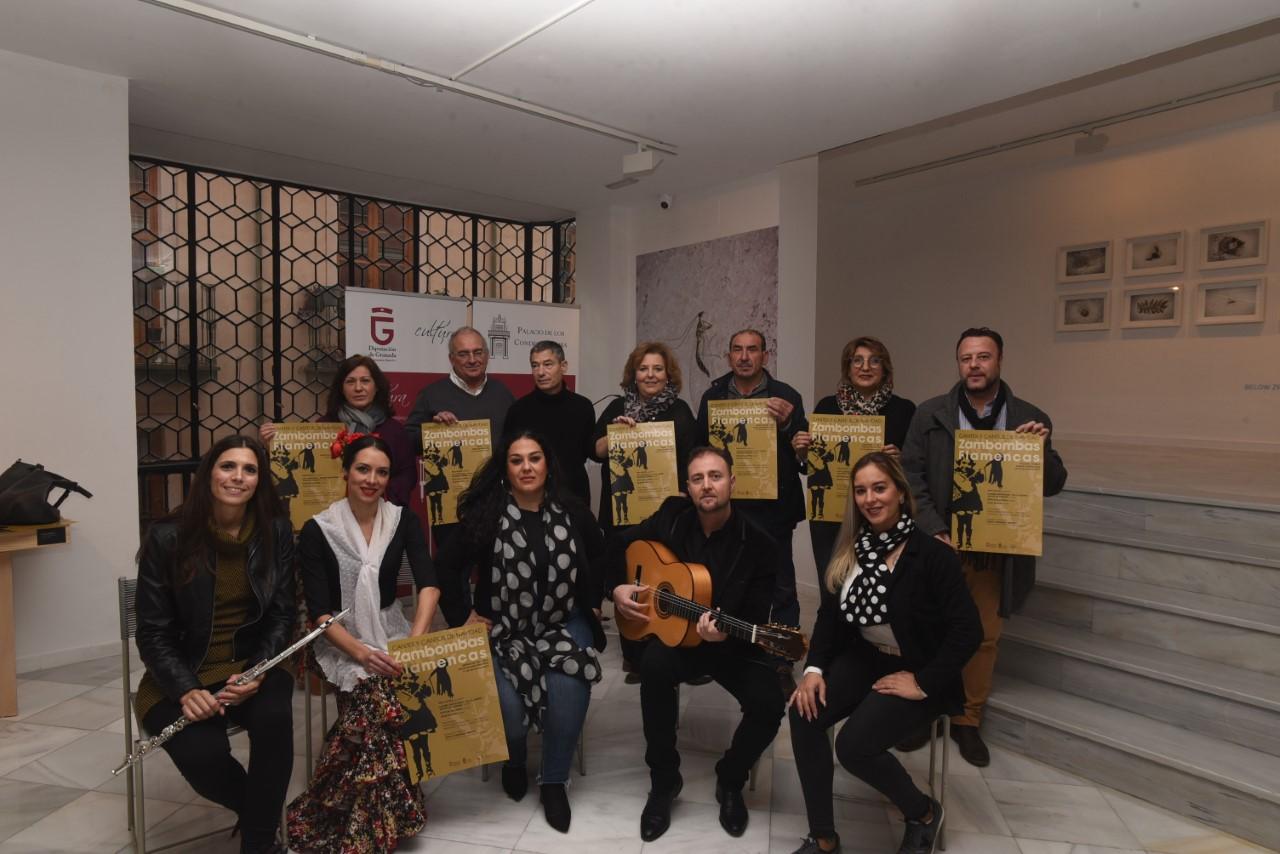 Diputación recupera la «Zambomba Flamenca» en la provincia
