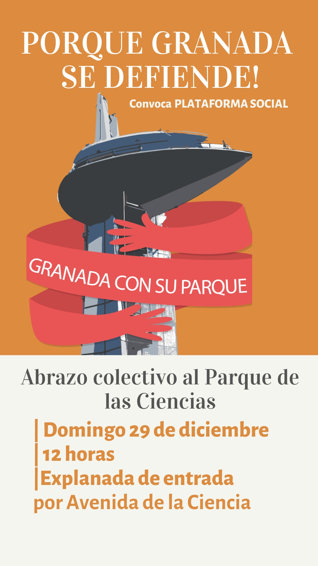 Colectivos piden una moratoria para que el Parque de las Ciencias no se gestione desde Sevilla