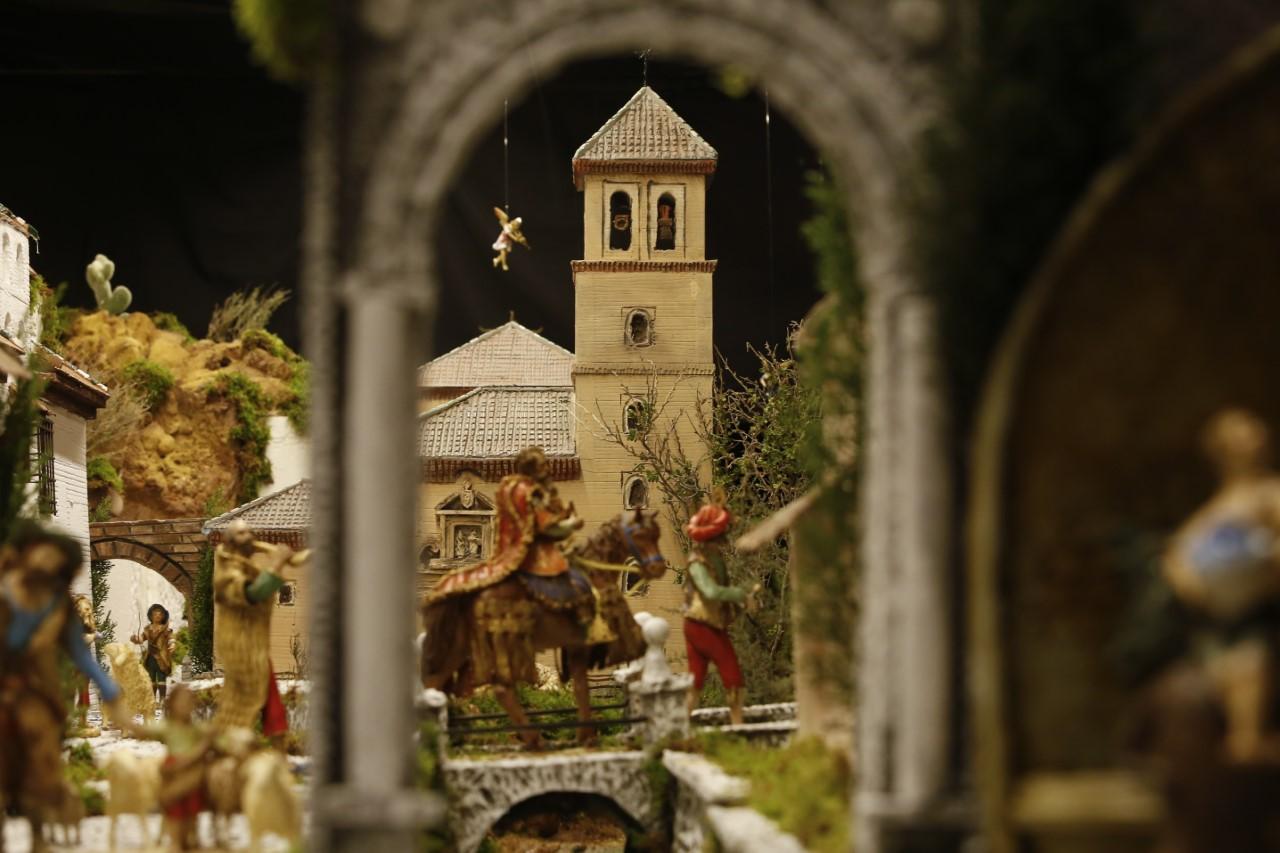 El jurado del Concurso de Belenes reconoce al Nacimiento de la Parroquia de San Andrés como el mejor Belén Popular