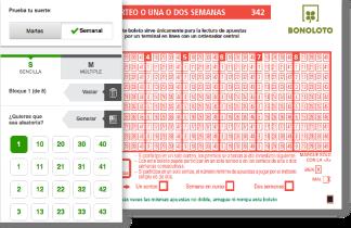 La Bonoloto deja más de 46.000 euros en Alhama de Granada