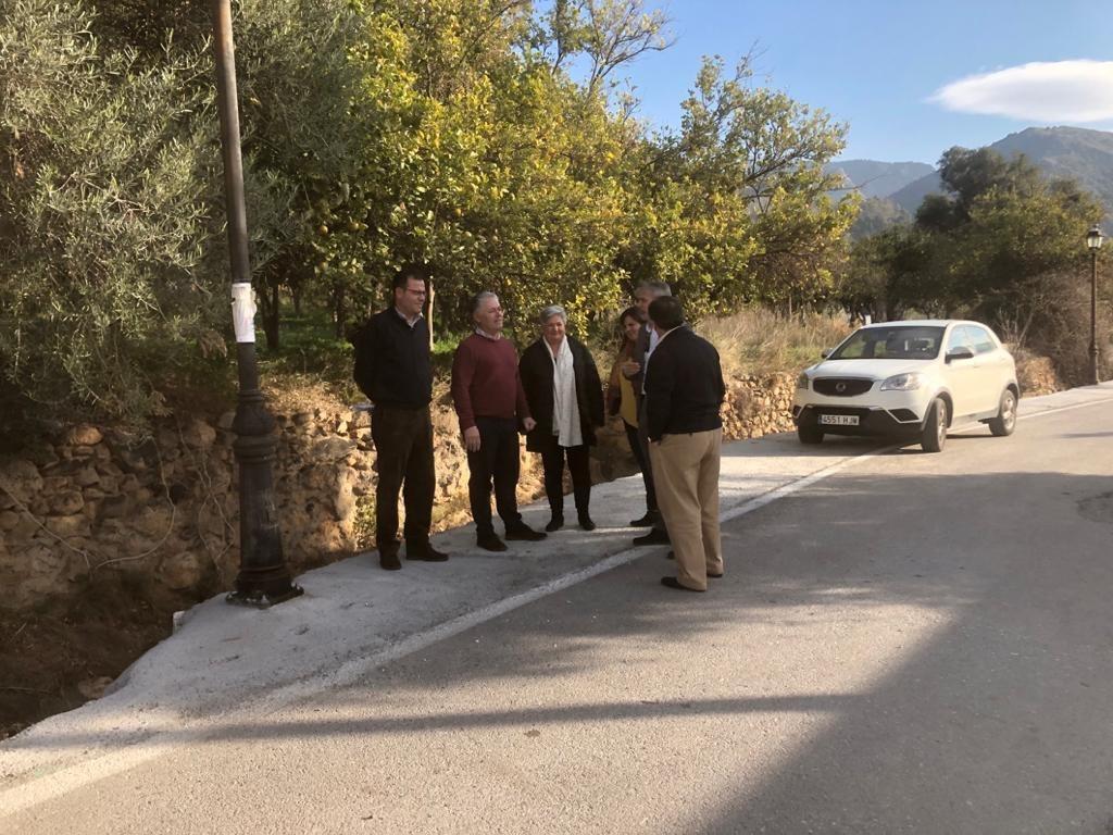 Concluyen las obras de mejora de la carretera entre Órgiva y Tíjola