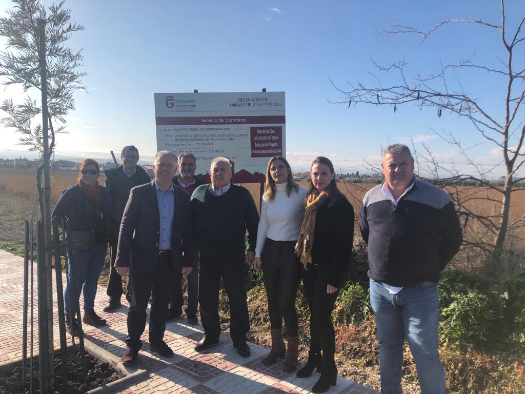 Diputación invierte 130.000 euros en una de las vías de acceso a Valderrubio