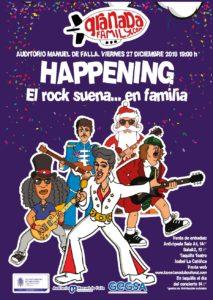 El rock familiar vuelve hoy al Auditorio Manuel de Falla