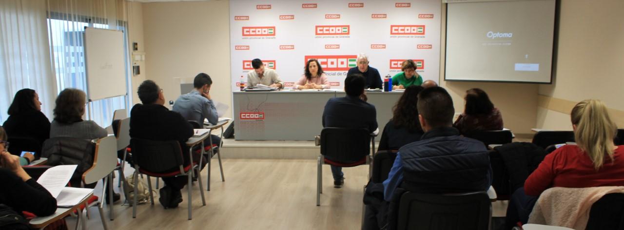 CCOO Granada tramita más de dos mil consultas en la primera semana de atención sindical por la crisis del COVID-19