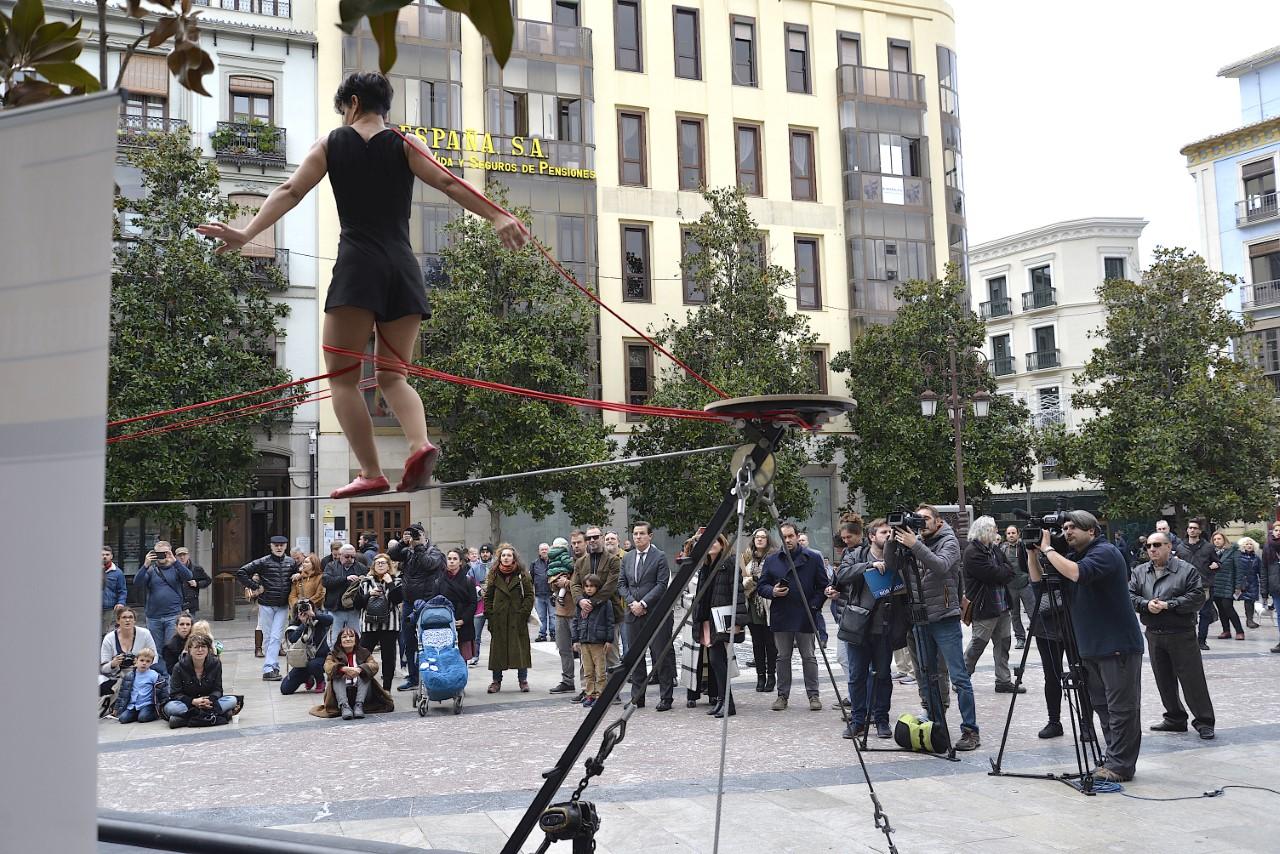 El Festival de Circo y Arte Urbano arranca hoy en las plazas de Granada