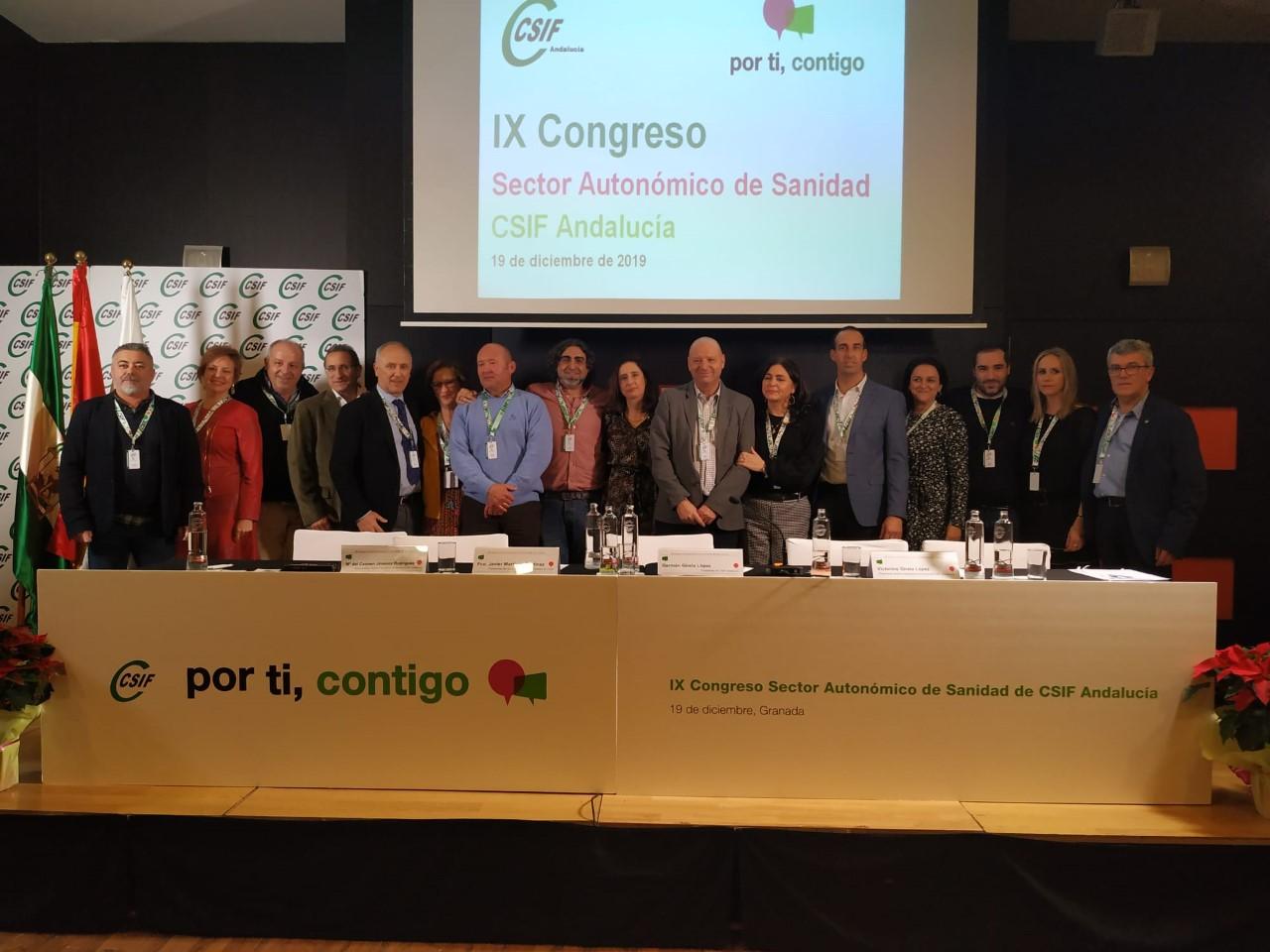 Victorino Girela nombrado presidente del sector de Sanidad de CSIF Andalucía