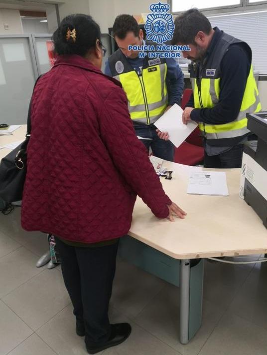 Destapado en Motril una fraude al SEPE de 260.00 euros
