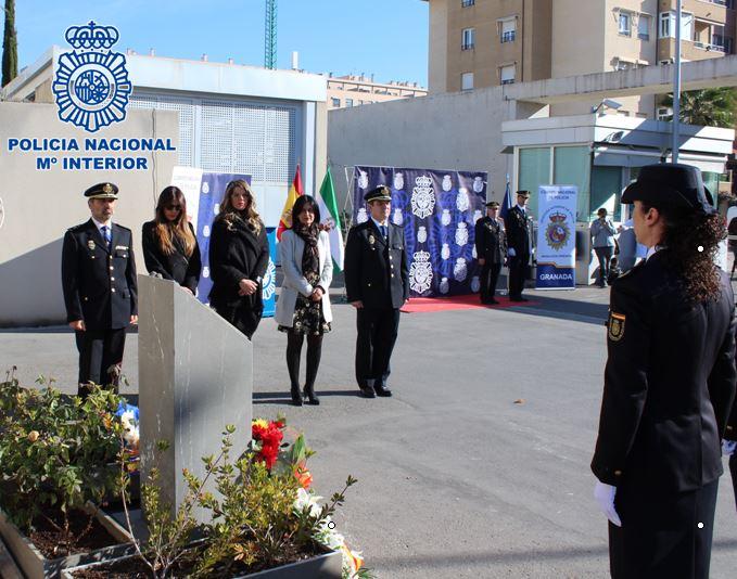 La Policía Nacional rinde homenaje a los agentes fallecidos en el atentado terrorista de Kabul de 2015