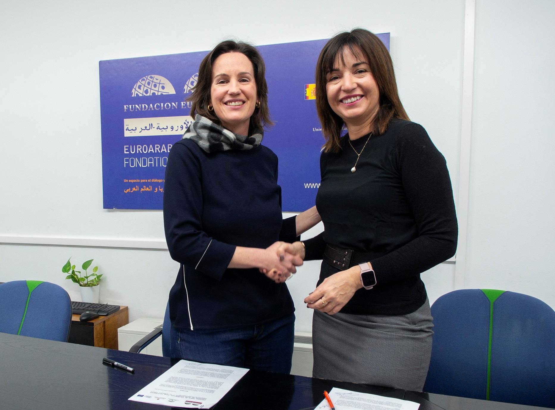 Fundación Euroárabe y Legado Andalusí firman un convenio de colaboración