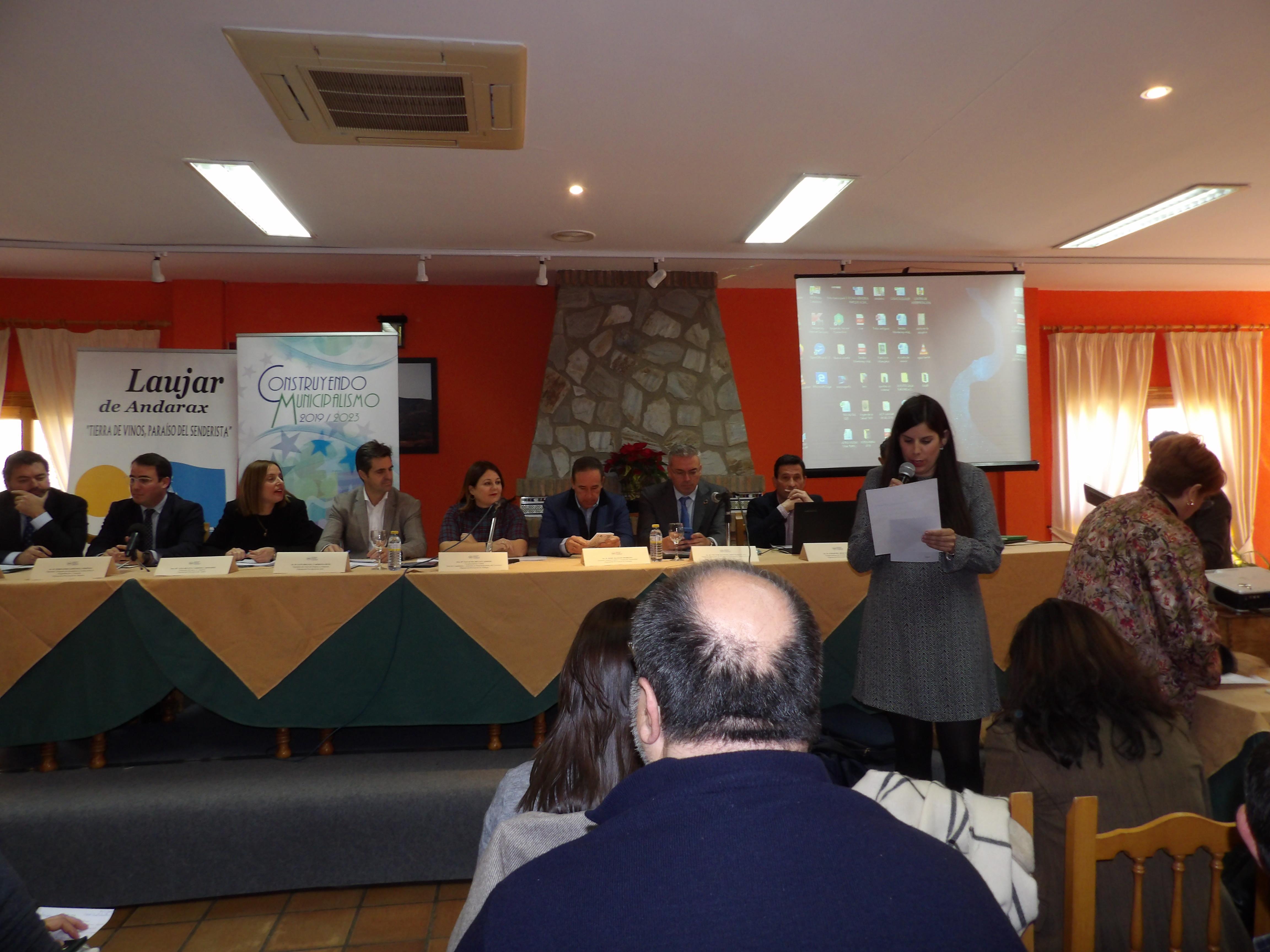 La Diputación expone el problema de la despoblación en un foro andaluz