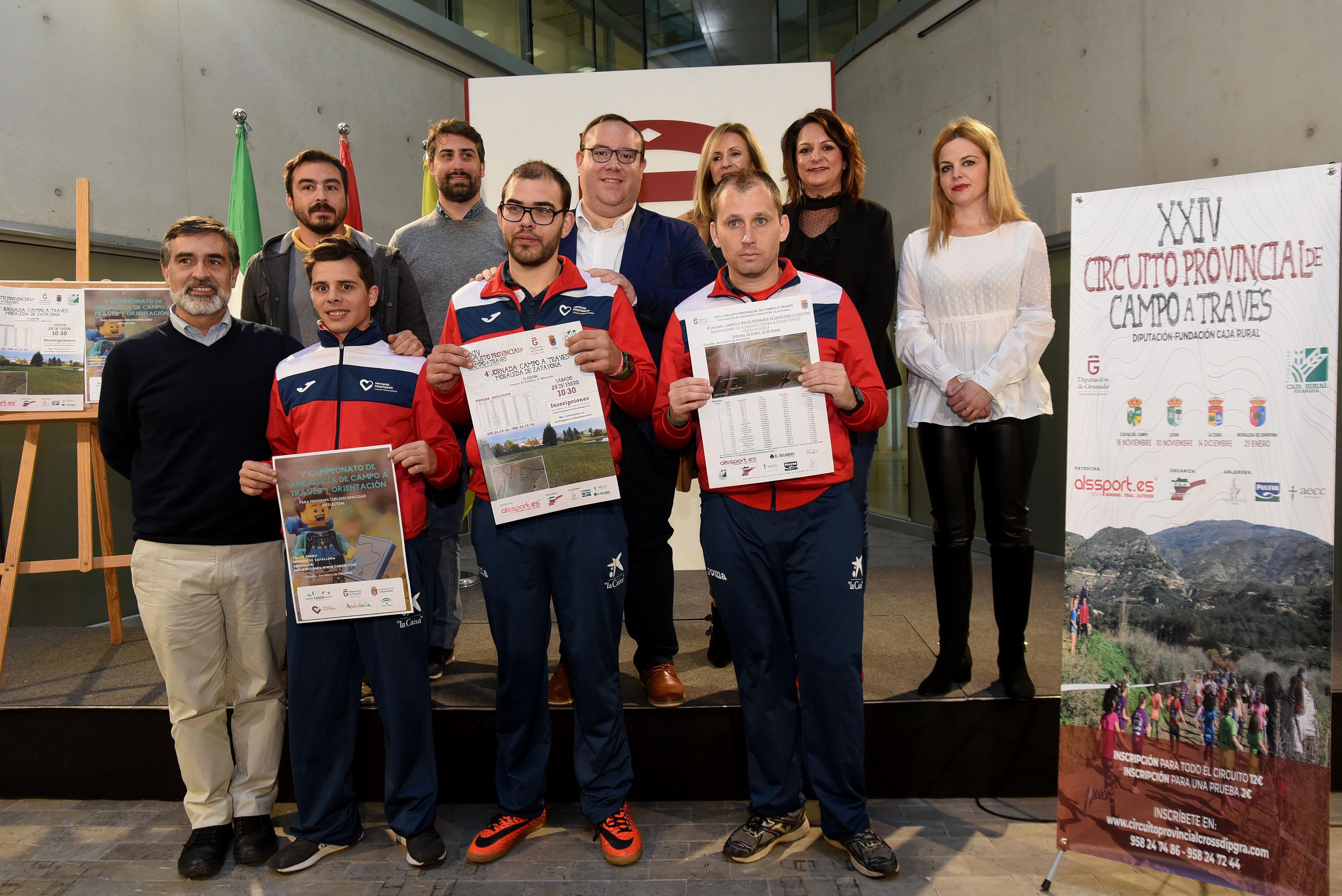 70 atletas discapacitados participarán en el Campeonato de Andalucía de Campo a Través