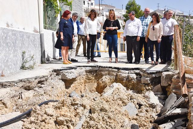 La Junta defiende la gestión llevada a cabo en Cuevas del Campo tras la DANA de septiembre