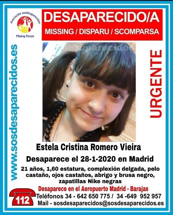 Denuncian la desaparición de una joven de Alhendín en el aeropuerto de Barajas