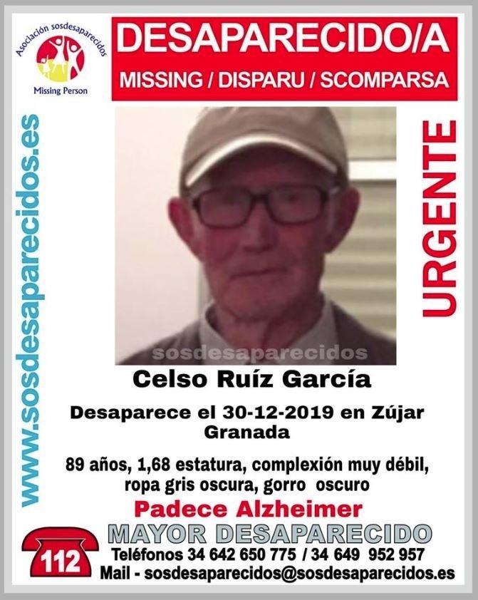 Una unidad canina interviene en la búsqueda del hombre desaparecido en Zújar
