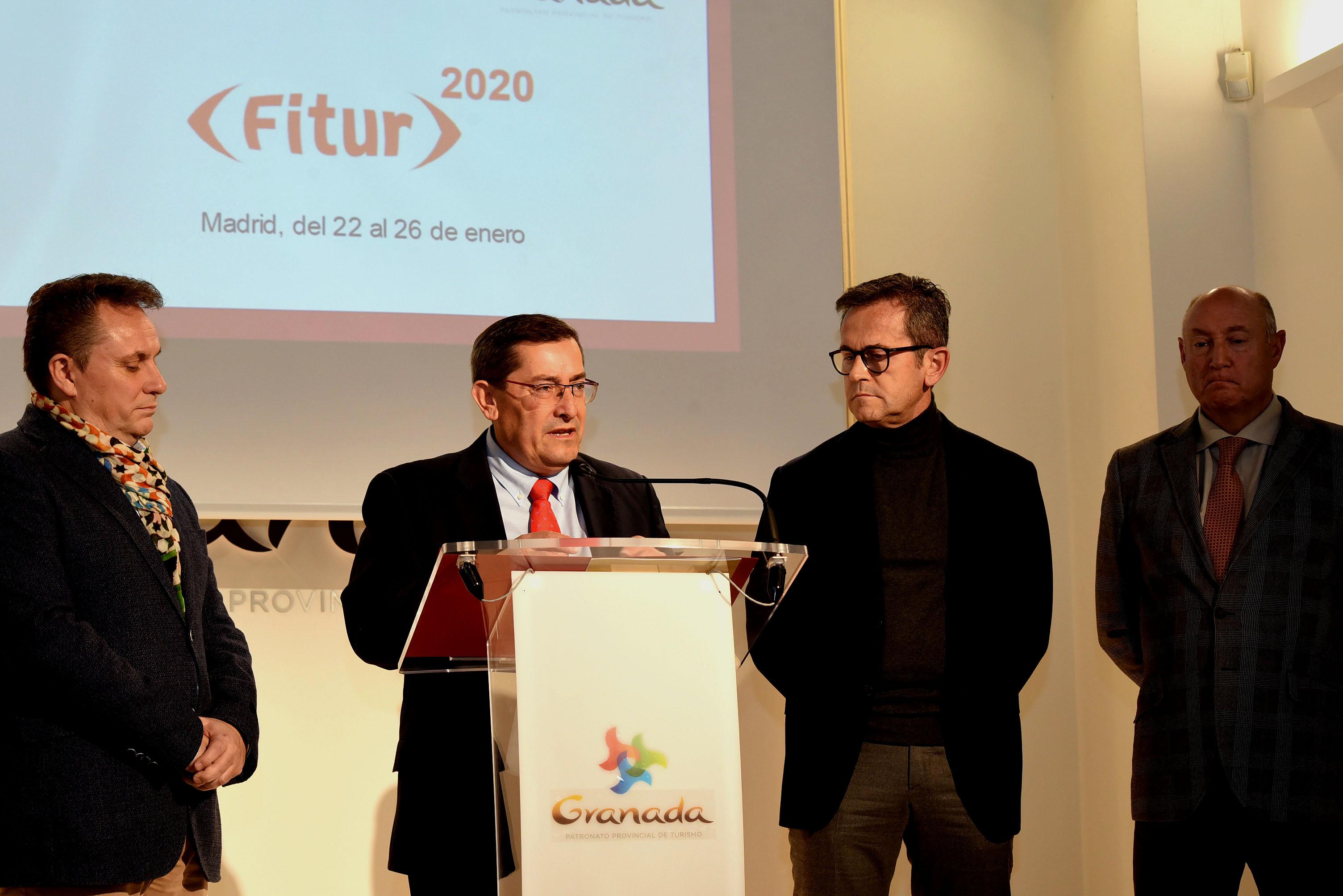 Universo Lorca y el Geoparque de Granada serán productos estrella de la provincia en FITUR
