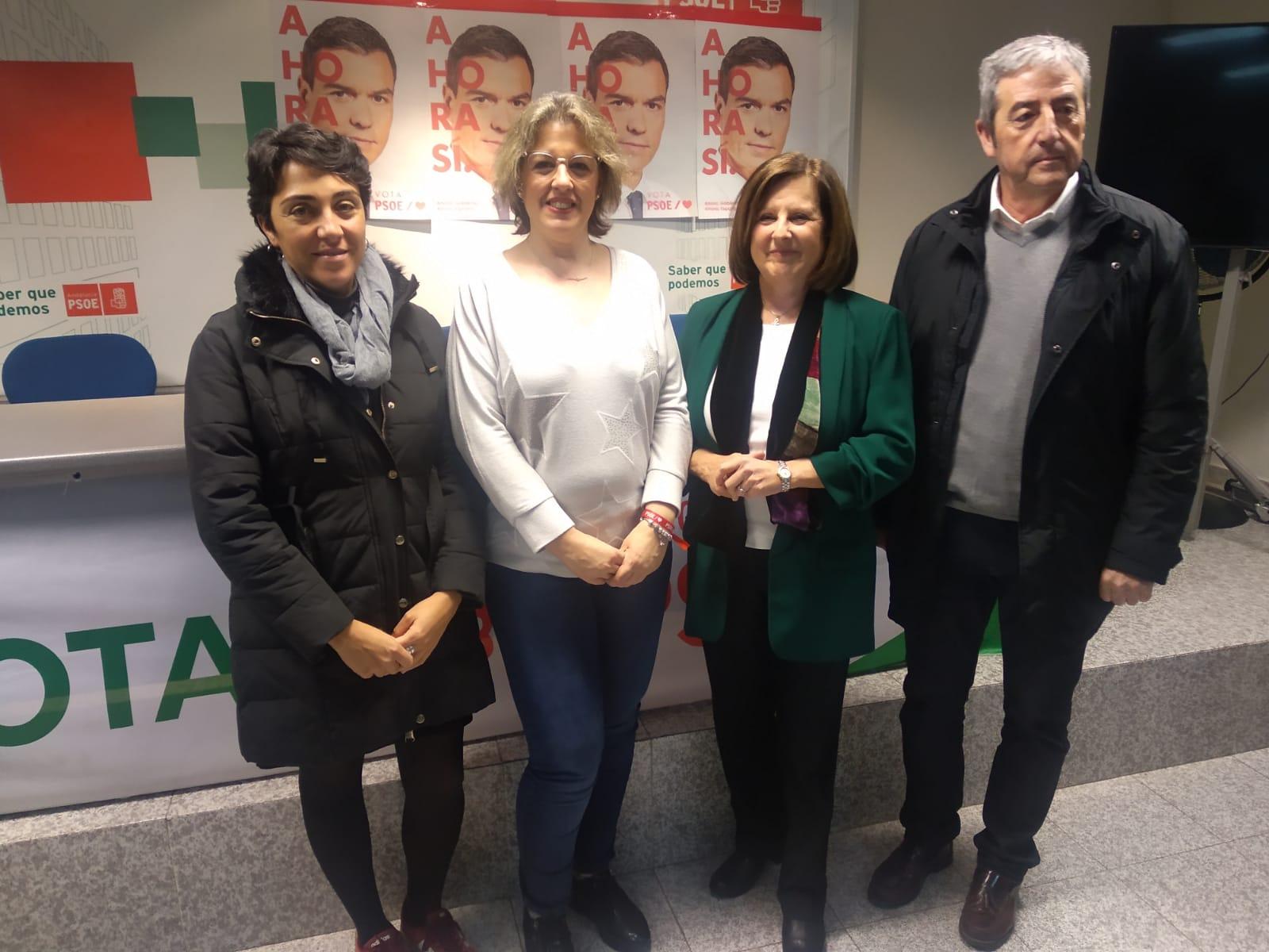 El PSOE denuncia el «ataque» de la Junta a la sanidad y la educación pública en la comarca de Guadix