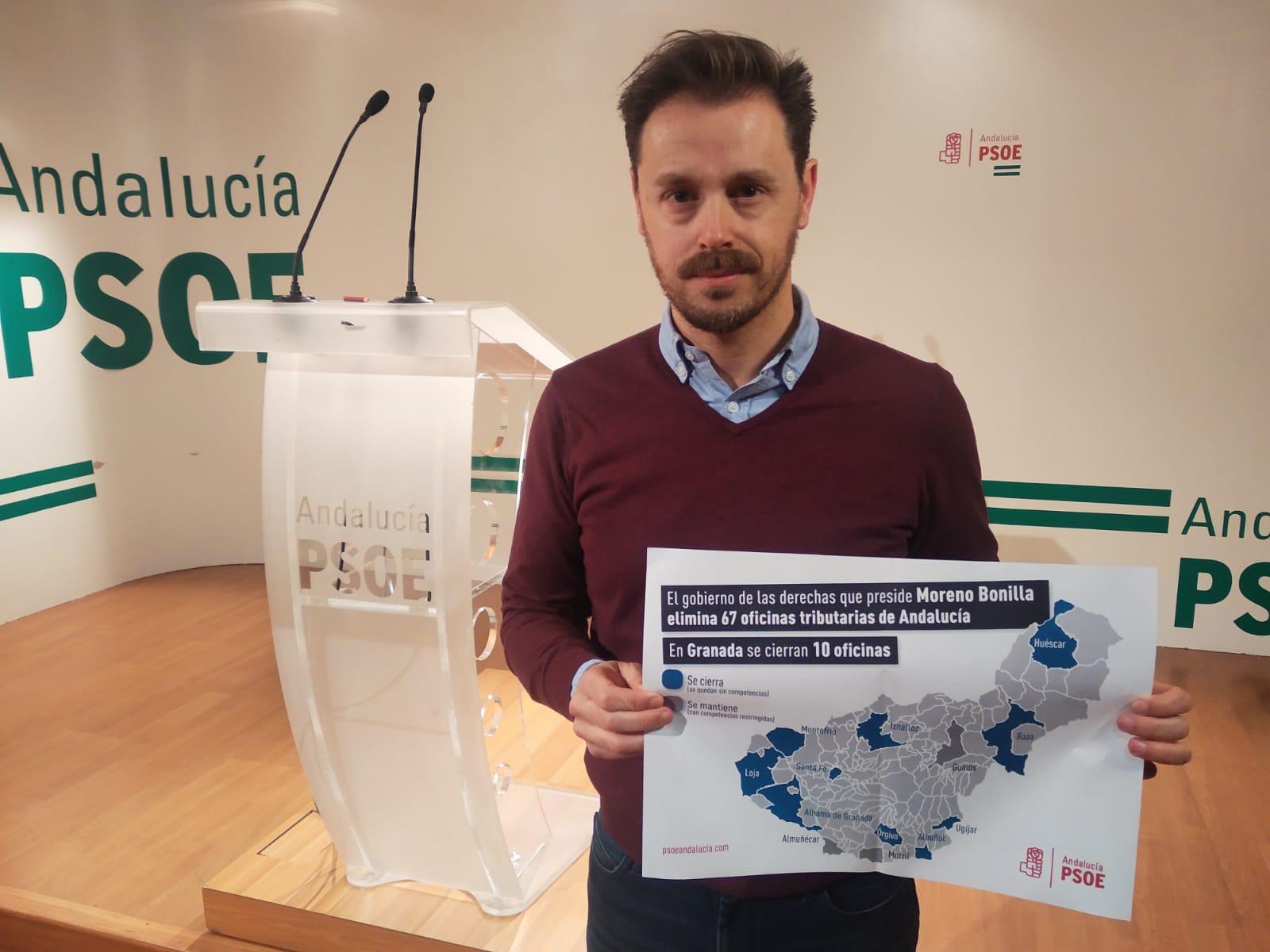 """El PSOE acusa a la Junta de ser """"verdugo"""" de las oficinas liquidadoras y pide un nuevo convenio para su mantenimiento"""