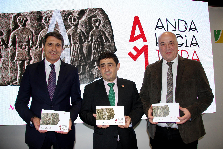 Granada, Jaén y Córdoba presentan en Fitur  la nueva guía turística 'Andalucía Íbera'