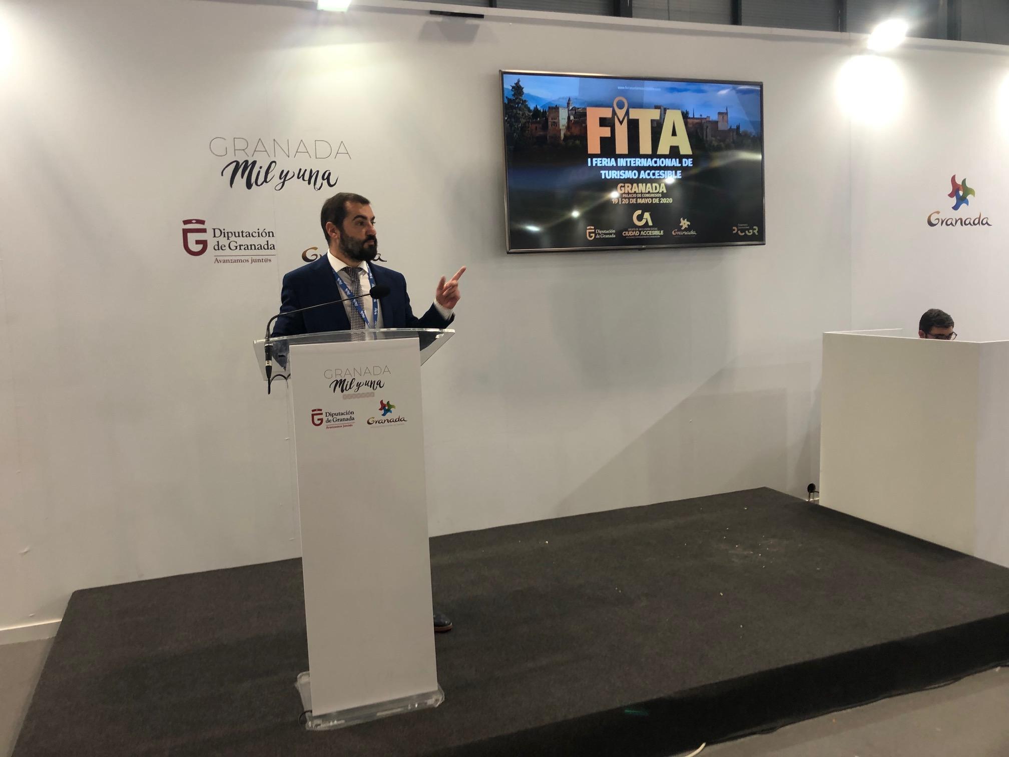 La primer edición de la 'Feria Internacional de Turismo Accesible' se desarrollará en Granada