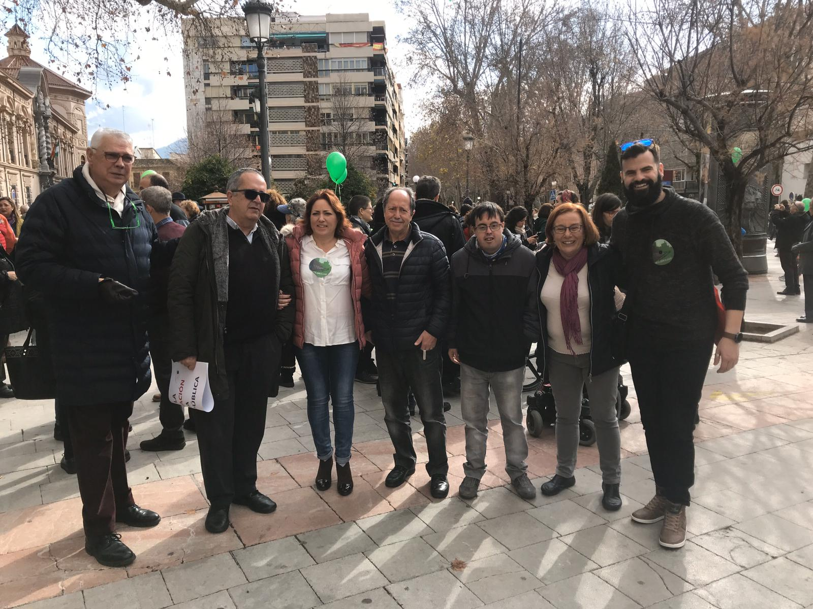 Izquierda Unida exige la permanencia de la EASP en Granada