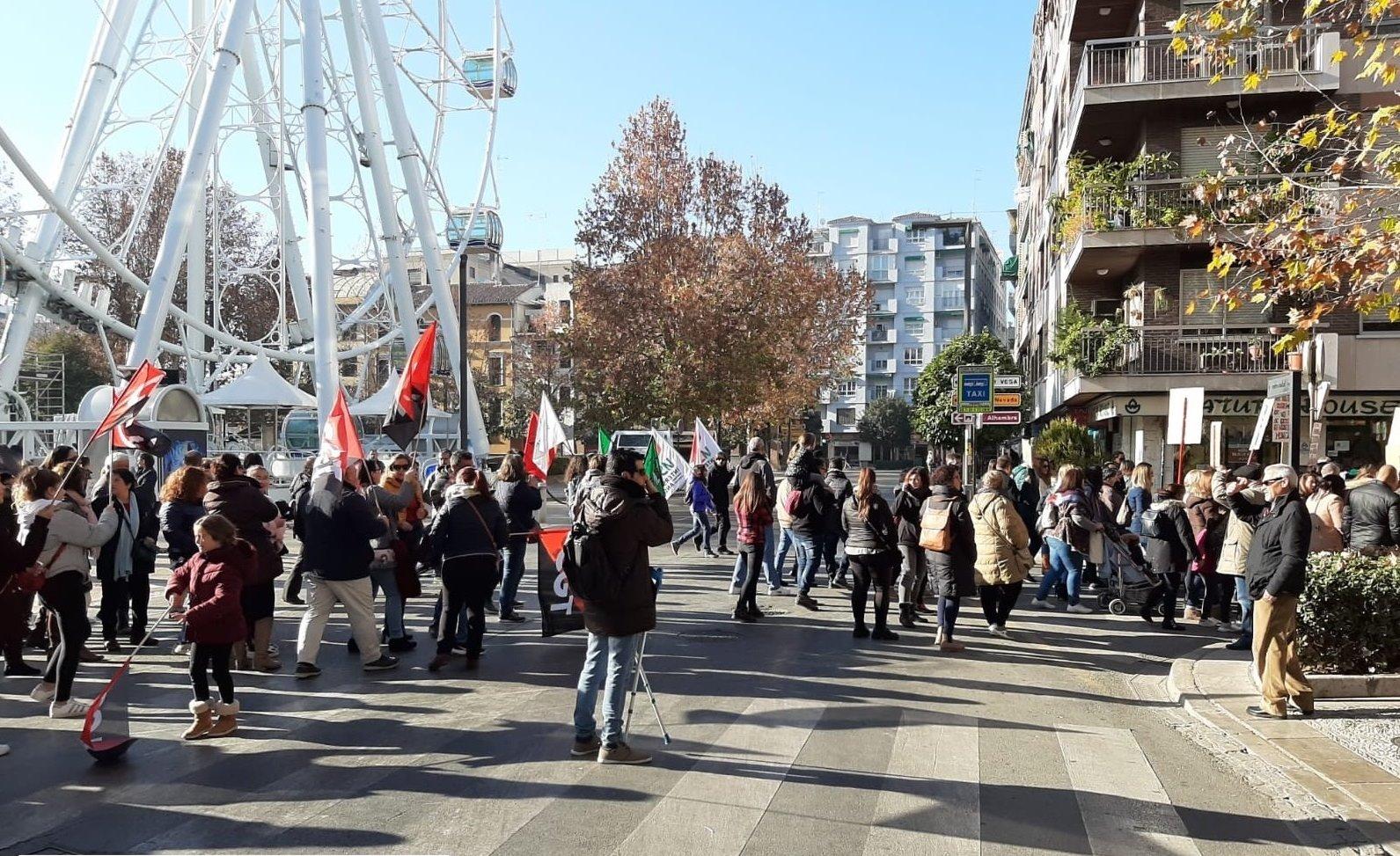 UGT se muestra contraria el recorte de unidades en el sistema público educativo en Granada