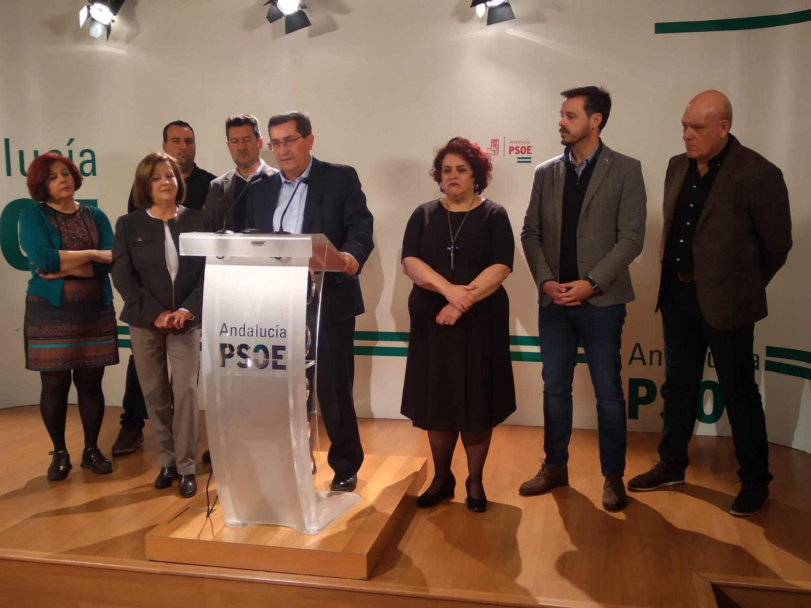 Entrena afirma que todo «ha ido a peor en la provincia» en el año de gobierno de la Junta