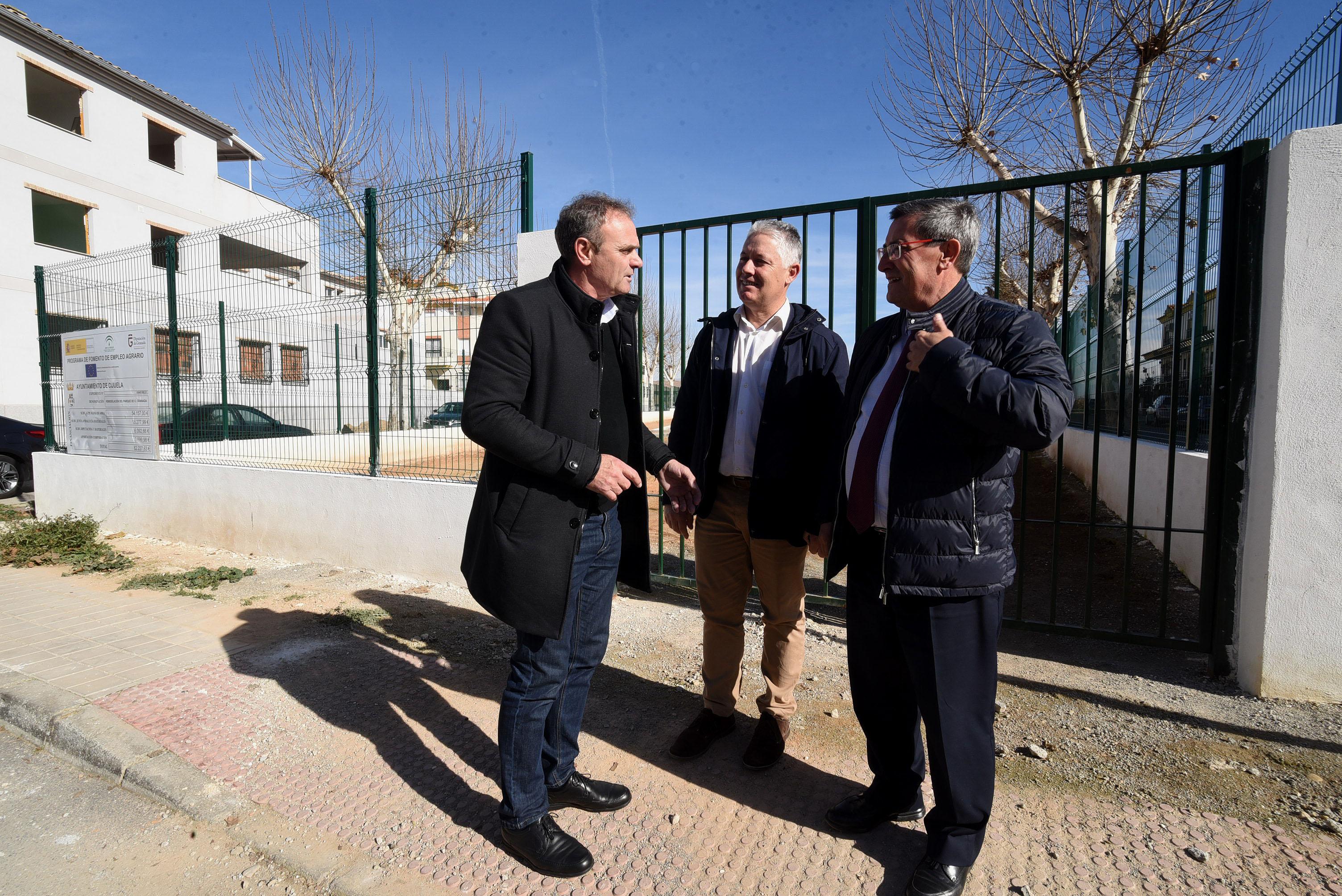 Diputación impulsará la recuperación de la zona de Cañaveral en Cijuela