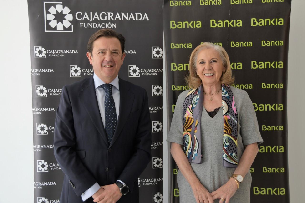 Bankia destina 800.00 euros a CajaGranada Fundación para fines sociales