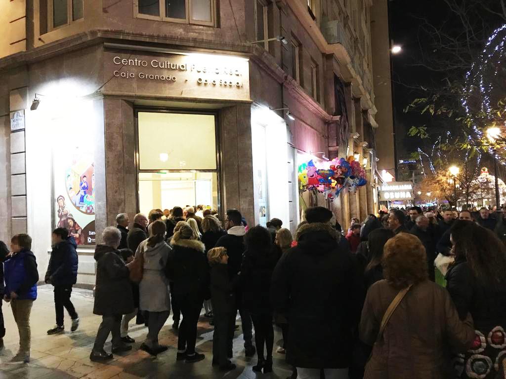 Cerca de 25.000 personas han visitado la exposición dedicada a los belenes del mundo, en el Centro de Exposiciones CajaGranada Puerta Real