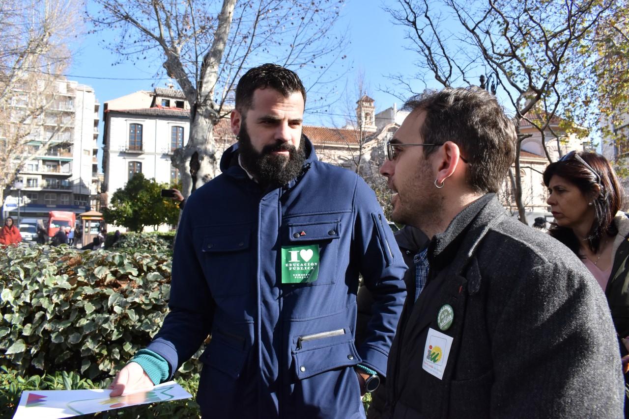Izquierda Unida Granada considera la dimisión de Castillo un logro de la comunidad educativa