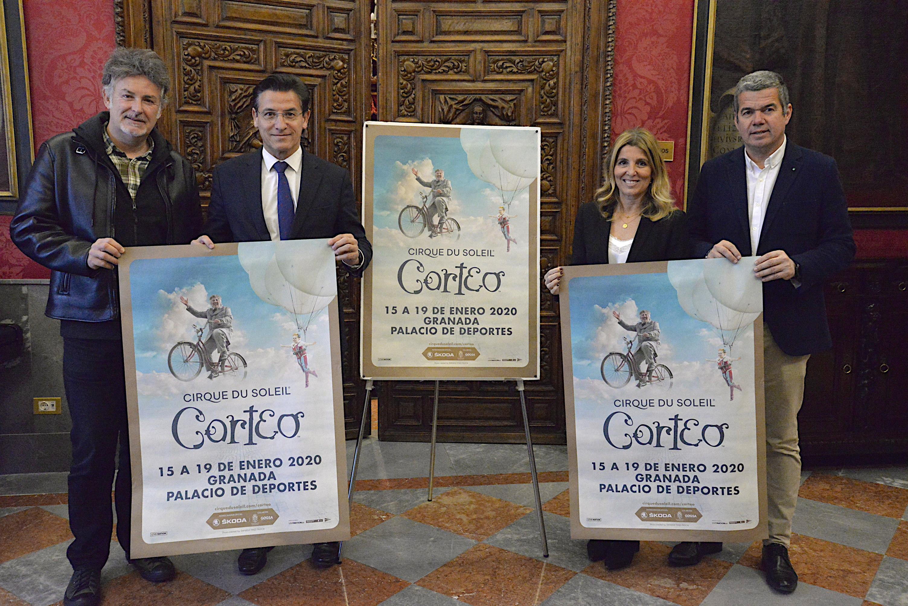 Desde el miércoles se puede disfrutar del Circo del Sol en Granada
