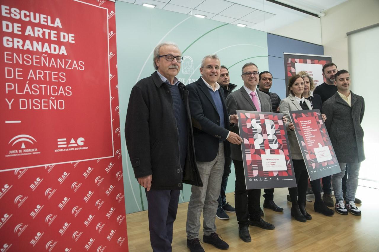 La Escuela de Arte de Granada abre a los granadinos la quinta edición de la Semana del Diseño