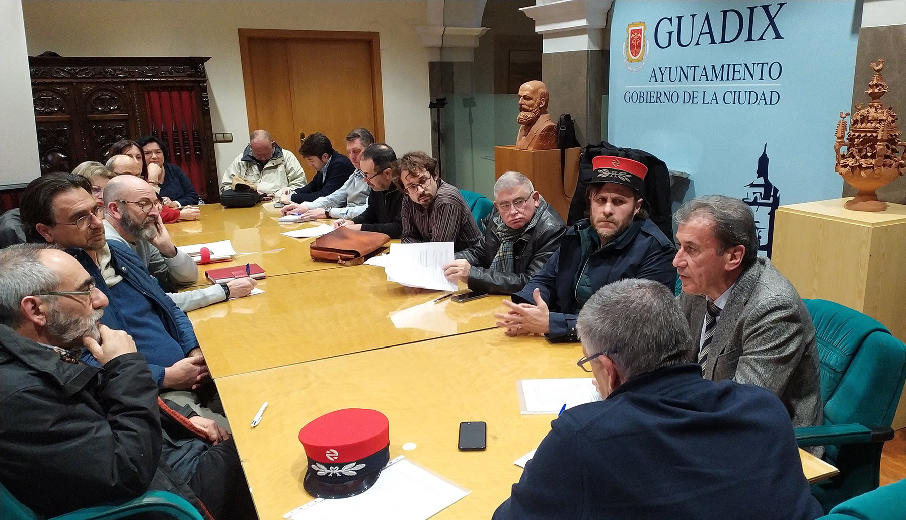 Comarca de Guadix por el Tren propone la ejecución de un proyecto piloto de gestión del ferrocarril para Andalucía Oriental