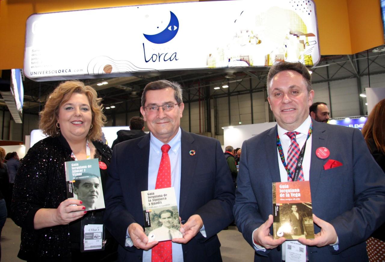 Presentadas en FITUR las guías lorquianas de la Vega, la Alpujarra y Guadix y Víznar y Alfacar