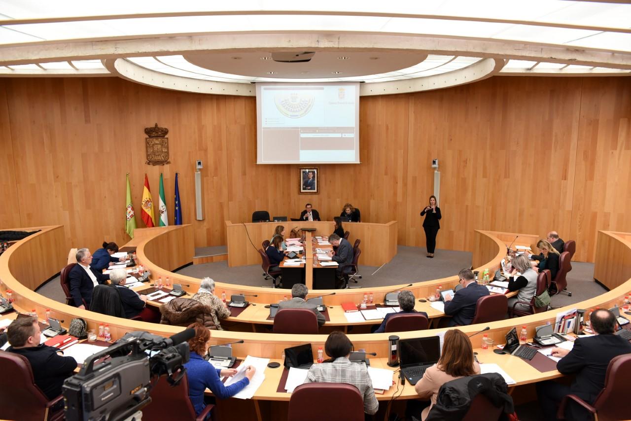La Diputación aprueba dos mociones en defensa de la EASP y del mantenimiento de su sede en Granada