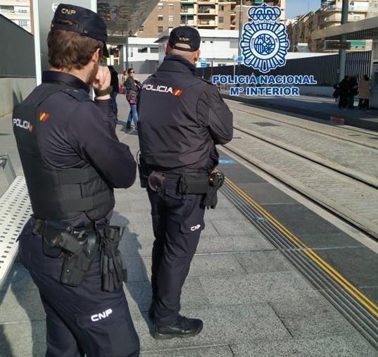 Detenido en Granada un fugitivo con orden de detención europea por delitos contra la propiedad