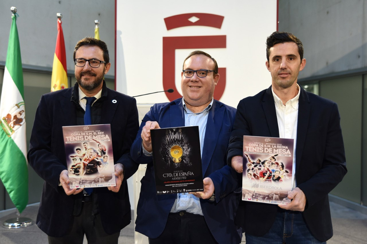 La Ciudad Deportiva de Diputación acogerá la próxima edición del Campeonato Nacional de Tenis de Mesa