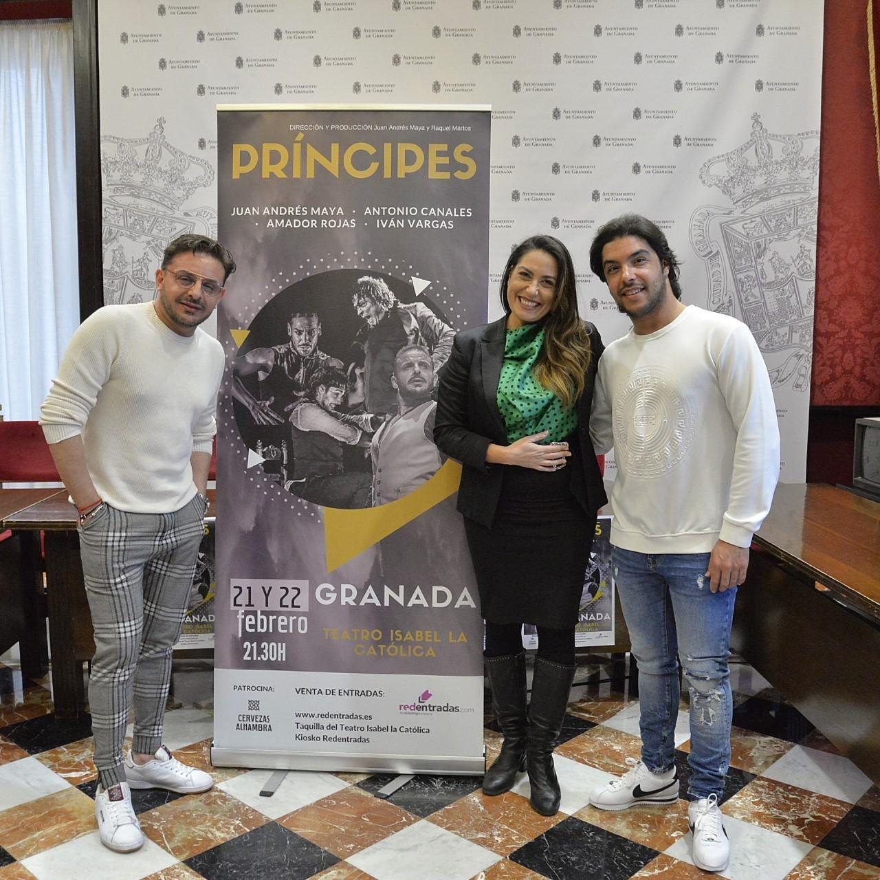 «Príncipes», nuevo espectáculo de Juan Andres Maya en el Isabel La Católica