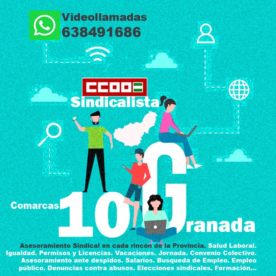 CCOO asesorará a los trabajadores de toda la provincia con la ayuda de las nuevas tecnologías