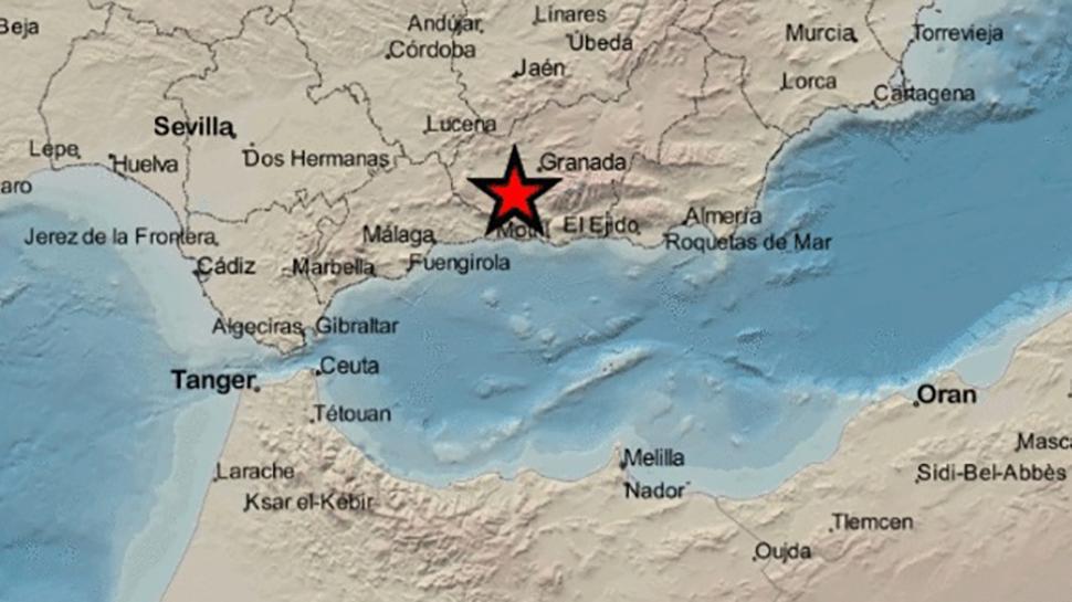 Dos terremotos en Escúzar y Ventas de Huelma sacuden el Área Metropolitana