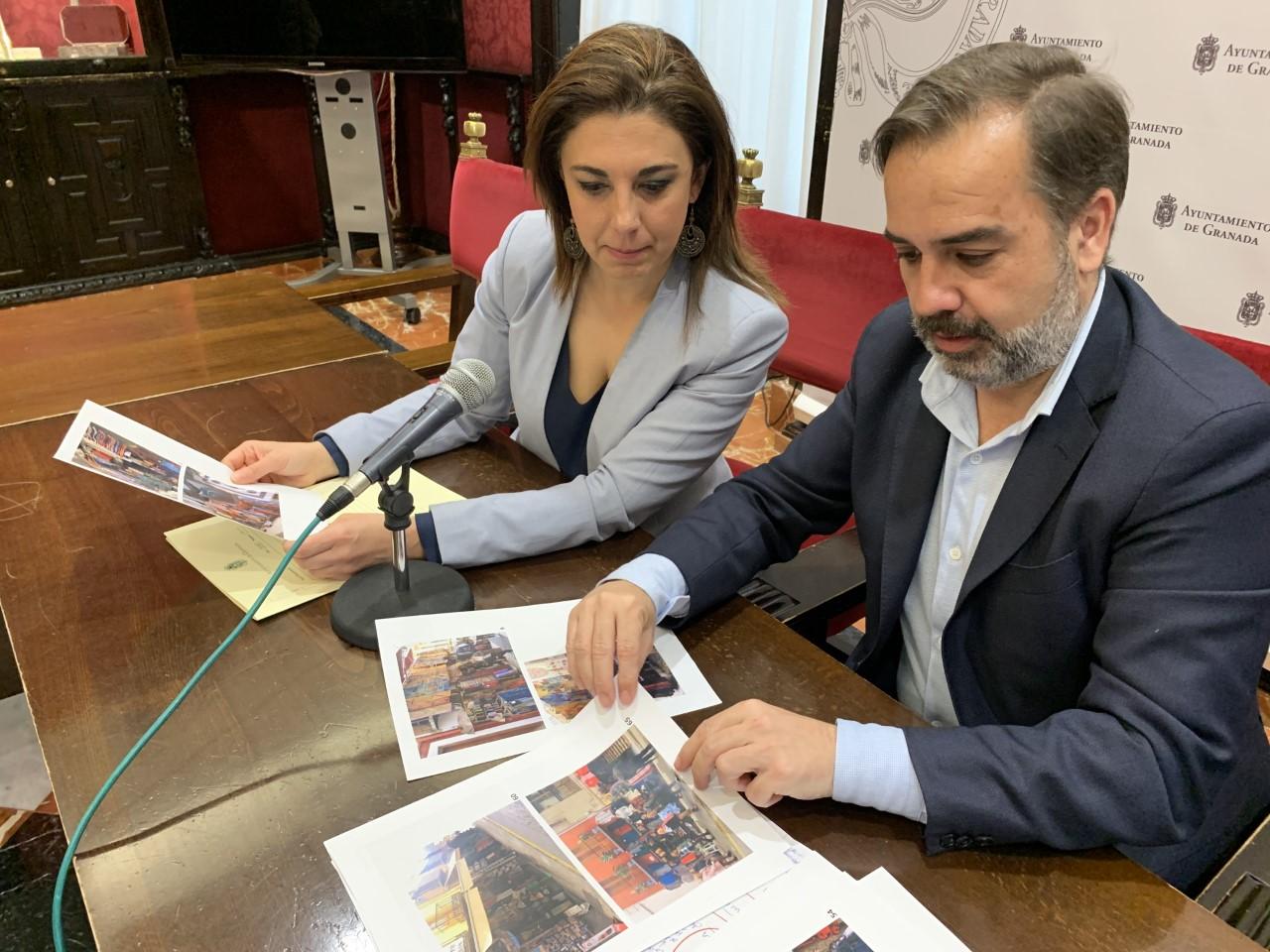 El PSOE denuncia la pasividad del Ayuntamiento en el control de la ocupación de calles en el Albaicín