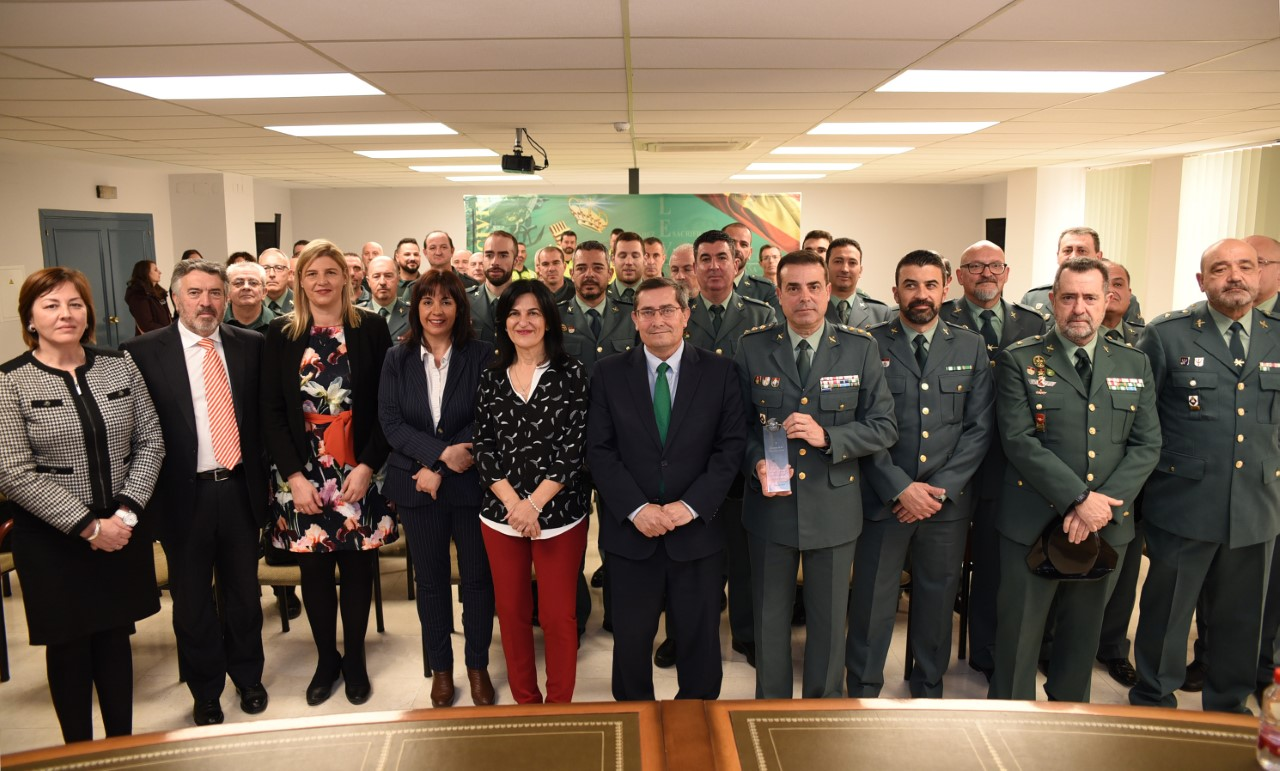 La Diputación con la Guardia Civil al cumplir 175 años de historia en la  provincia