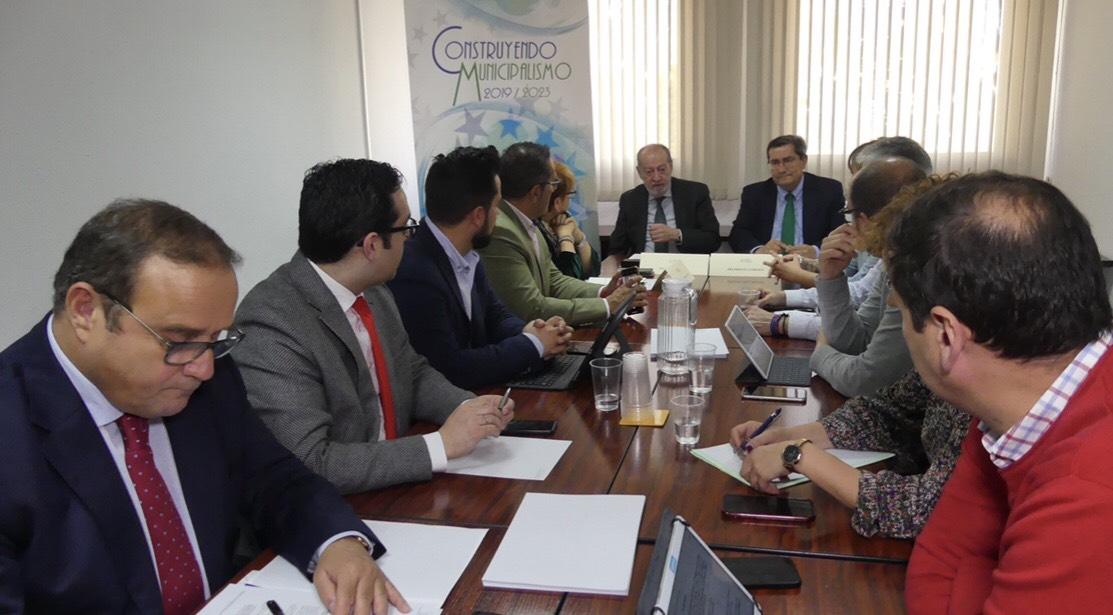 José Entrena preside la Comisión de Intermunicipalidad de la Federación Andaluza de Municipios y Provincias