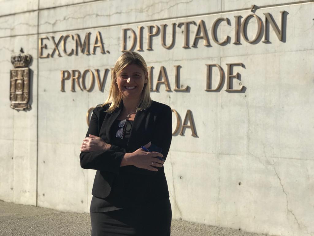 La alcaldesa de La Zubia, Inmaculada Hernández, nueva portavoz del PP en Diputación