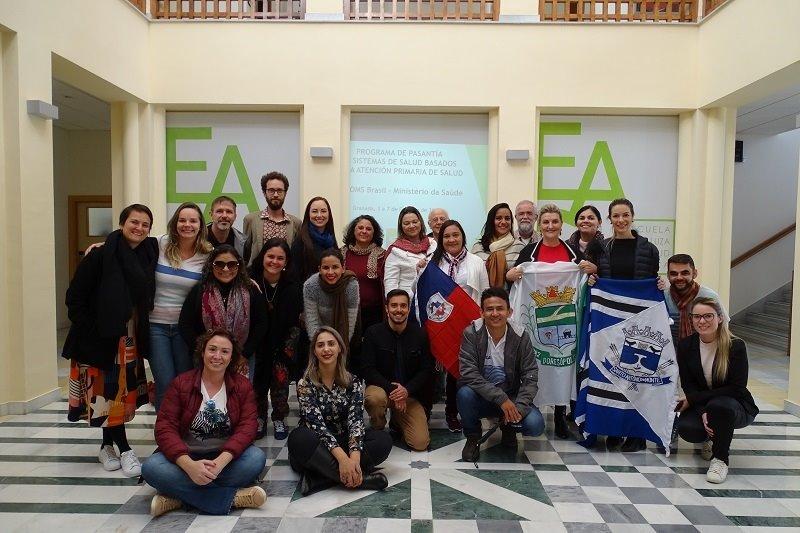 Profesionales brasileños se forman en la Escuela Andaluza de Salud Pública