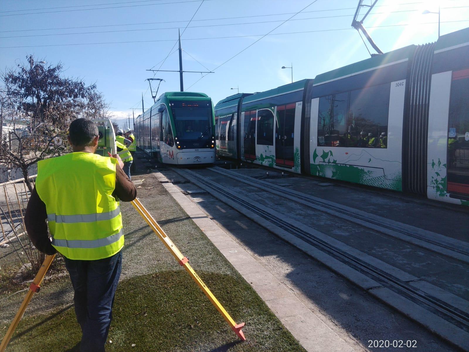 Restituido el servicio de metro hasta Albolote