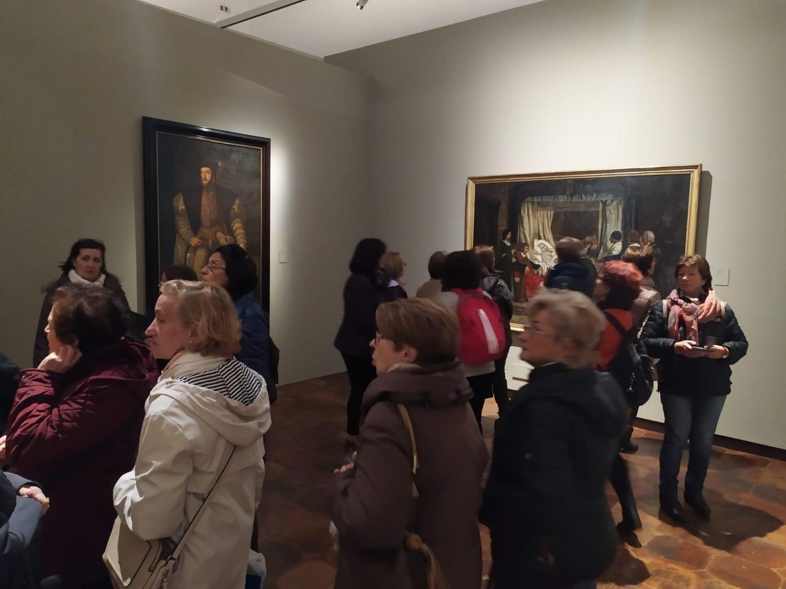 8.519 personas han visitado la exposición 'El Museo del Prado en la Universidad de Granada'