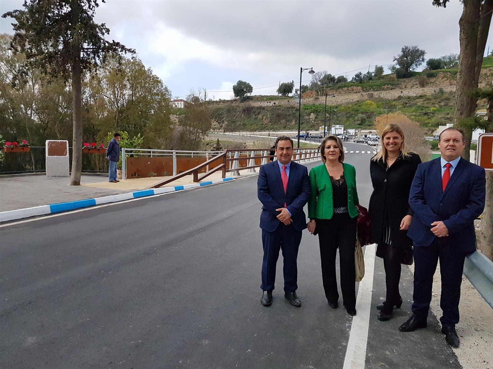 Tras la construcción del puente de Órgiva, el PP afirma que la Junta «ha hecho justicia» con los alpujarreños