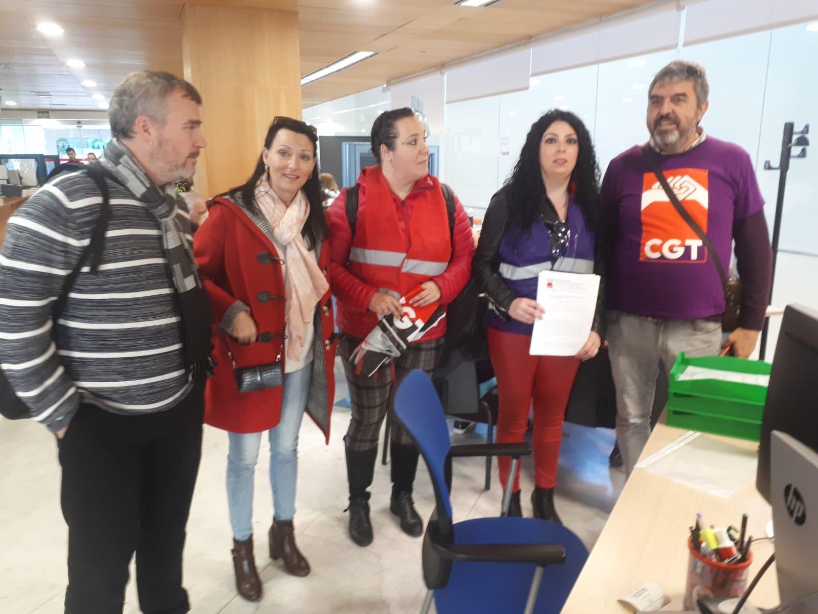 LA CGT convoca Huelga General en Andalucía para el 8 de Marzo