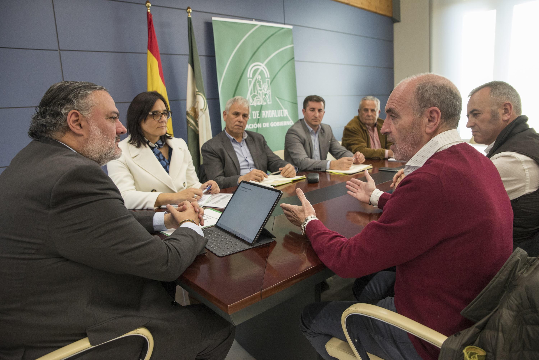 Pablo García se compromete con el sector primario en trasladar sus reivindicaciones al Gobierno